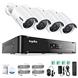 Best Sannce-surveillance-systems - SANNCE 1080P 4CH POE NVR Security Camera System Review