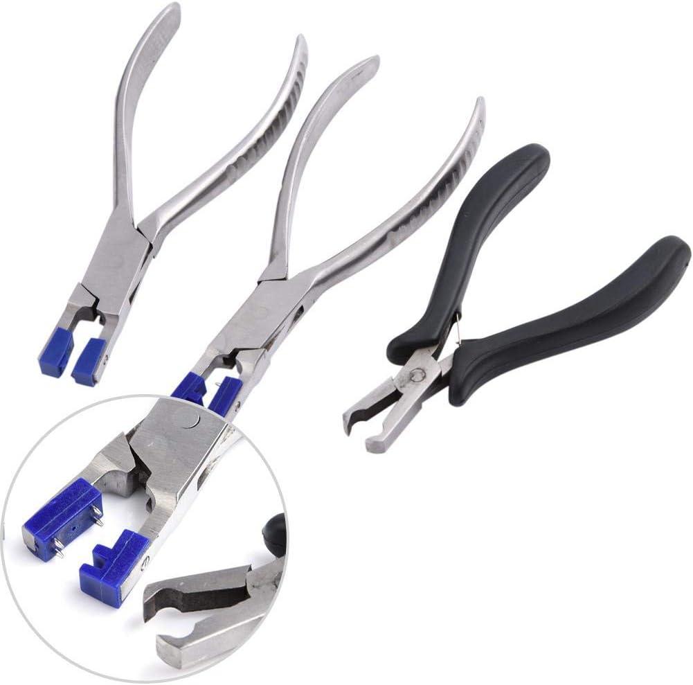 Juego de alicates profesionales para anteojos sin montura Desmontaje de marcos de gafas Kit de herramientas /ópticas Juego de alicates para anteojos