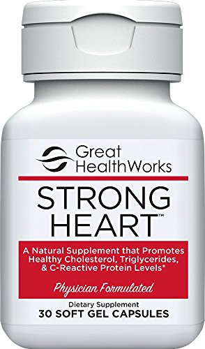Strong Heart 30 Count Omega 7 All Natural Supplement, Palmitoleic Fatty Acid to Promote Healthy Cholesterol Levels