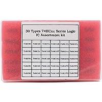 WOWOONE 30 Types 74HCxx Series Logic IC Assortment Kit, TTL, Low-Power Schottky Logic IC