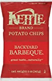 Kettle Brand Potato Chips, Backyard Barbeque, 5-Ounce Bags (Pack of 15)