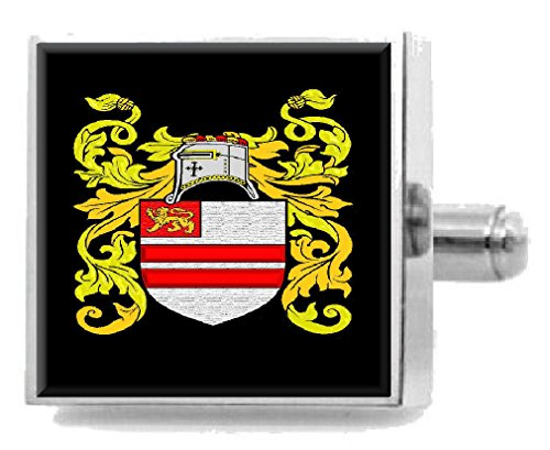 - Select Gifts Lancaster England Heraldry Crest Sterling Silver Cufflinks Engraved Box