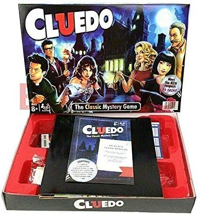 XQXC Cluedo Clásico Juego De Mesa, Juego De Razonamiento y Resolución para 2-6 Personas, Juegos De Guerra Antiguos, Juego De Mesa Misterioso (CLUEDO): Amazon.es: Hogar