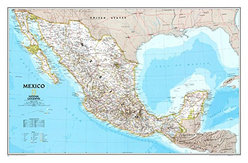 detailed map of mexico - 5