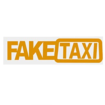 TiooDre Universal Car Sticker Fake Taxi JDM Drift Turbo Hoon Race Auto Funny Vinyl Decal Car Styling: Amazon.es: Coche y moto
