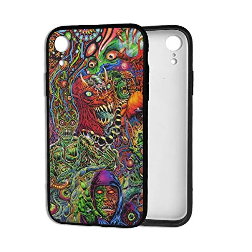 Halloween Mexican Colorful Skull Zombie Scary Makeup iPhone XR Case Theme Cover Decorative Mobile Accessories Ultra Thin Lightweight Shell Pattern Printed Ornament Decorations]()