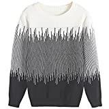 #3: BYCR Boys' Elastic Pullover Sweater Crew Neck Cotton Sweater Casual Style