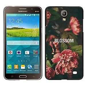 EJOY---Cubierta de la caja de protección para la piel dura ** Samsung Galaxy Mega 2 ** --Begonia Vignette Verde Naturaleza