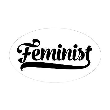 Amazon.com: CafePress – feminista – Oval Bumper Sticker ...