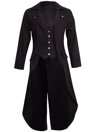 Elégante Manteau Banned Tail Frock Gothique Queue Veste Officier 6xxZYRPn