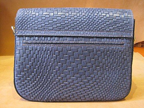 Tote Women Francesco Bag Lionetti For Blu Treccia wqqR0x