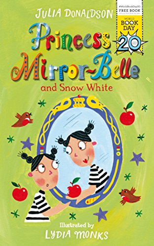 book cover of Princess Mirror-Belle and Snow White