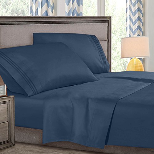 (Clara Clark Premier 4 Piece Bed Set - 18