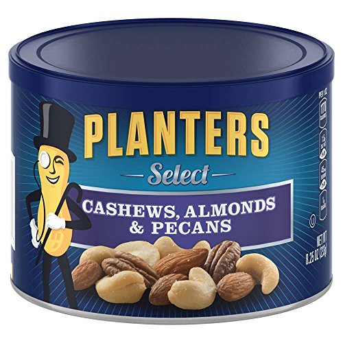 Planters Select Almonds Cashews & Pecans (24.75 oz Canister, Pack of ()