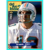1995 Collector's Choice #39 Dan Marino MIAMI DOLPHINS Pitt Pittsburgh Panthers