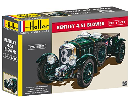 Heller Bentley 4.5L Blower Car Model Building Kit