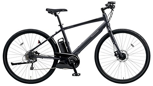 Panasonic(パナソニック) 2018年モデル ジェッター BE-ELHC 電動アシスト自転車 専用急速充電器付 B07DR4THP2 49 B:マットチャコールブラック B:マットチャコールブラック 49