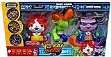 Yo-Kai Watch Jibanyan, Roughraff & Baddinyan Exclusive Action Figure 3-Pack [Exclusive Metals!]