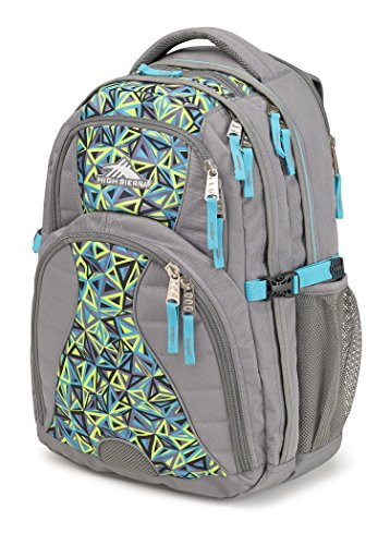 Price comparison product image High Sierra Swerve Laptop Backpack,  Charcoal / Electric Geo / Tropic Teal