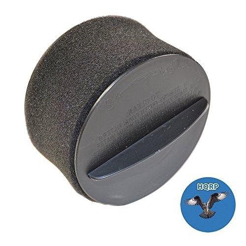 HQRP Inner & Outer Circular Filter Set Bissell 12B1, 12B1C, 12B1D, 12B1E, 12B1R, 12B1U, 12B1V, 12B1W PowerForce Helix Upright Vacuum Coaster - Outer Circular Filter