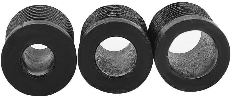 Black Yctze 13MM Car Gear Shift Knob,Universal Metal Modification Manual Knob Gear Shift Head Shifter Lever Stick Mounting Accessories