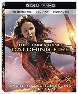 Cover Image for 'The Hunger Games: Catching Fire [4K Ultra HD + Blu-ray + Digital HD]'
