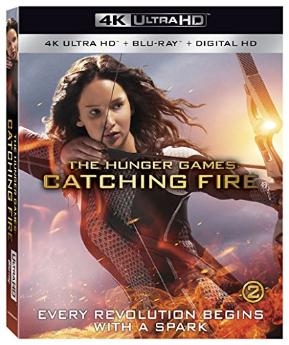 4K Blu-ray : The Hunger Games: Catching Fire (With Blu-Ray, 4K Mastering, 2 Pack, 2 Disc)