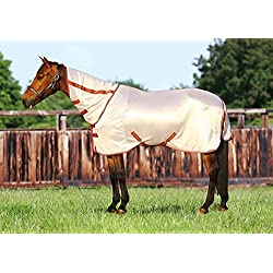 TuffRider Sport Mesh Combo Neck Fly Sheet Frosted Almond 78