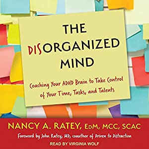 The Disorganized Mind Audiobook