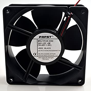 Papst MULTIFAN 4354 DC 24V 4W 12038 12CM Inverter Cooling Fan