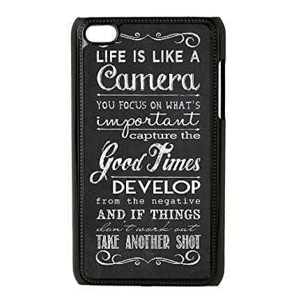 Amazoncom Brady Ipod Touch 4 Casepersonalized Custom Life Quotes