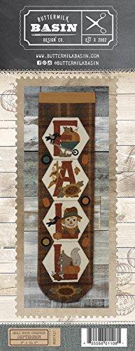 (Hexi Door Greeter September Fall - by Buttermilk Basin - Wool Applique Pattern - BMB 1431 9