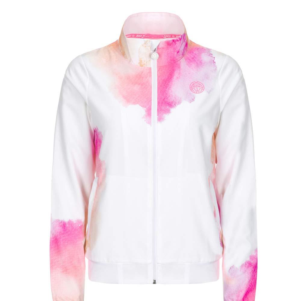 Bidi Badu Chaqueta Gene Tech Jacket Blanco Rosa: Amazon.es ...