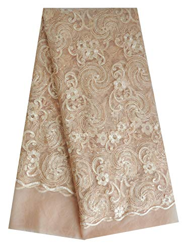 SanVera17 2020 Coil Embroidery African Lace
