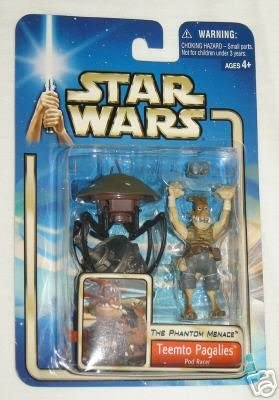 Star Wars 84813 Teemto Pagalies Pod Racer Action Figure The Phantom Menace Hasbro