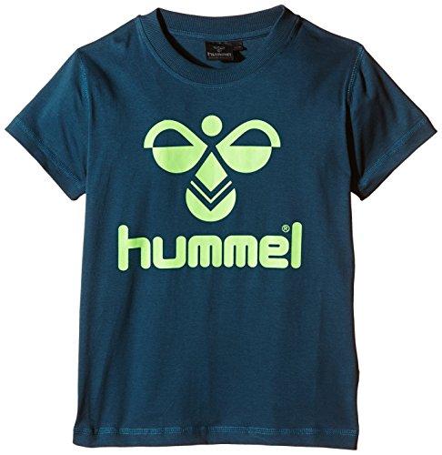 Hummel Jungen T-Shirt Classic Bee Tee, Legion Blue, 12 ( 140 - 152 ), 08-467-7511