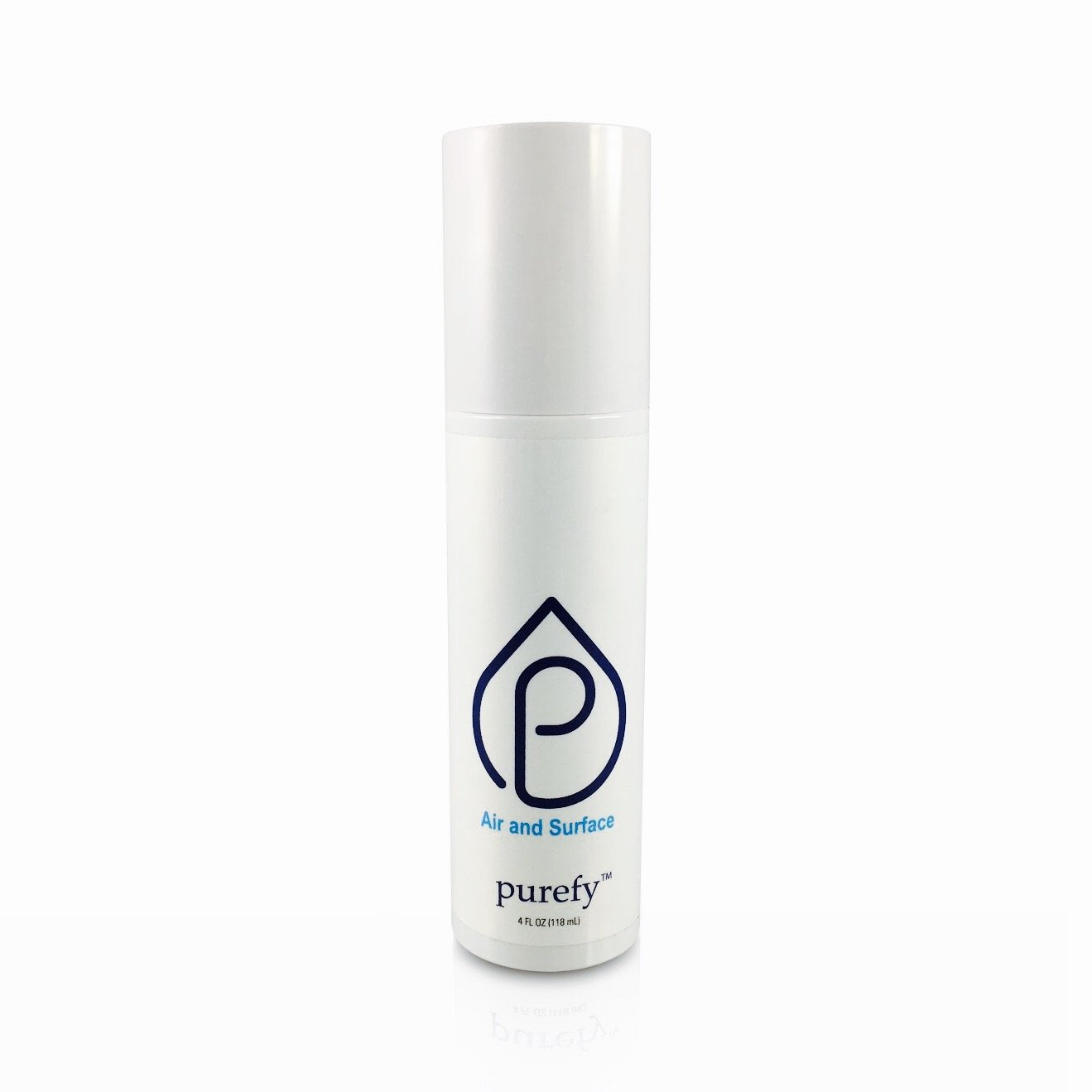 PUREFY Air and Surface Spray (On The Go, 4oz), Eliminate contaminants Anywhere, Safe for Babies, Cancer Patients, or Electronics.