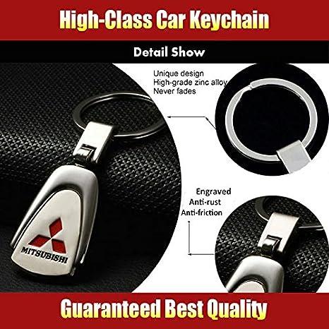 Amazon.com: Llavero con el emblema de Mitsubishi ChampLED ...