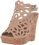 Style by Charles David Women's Alaiah Wedge Sandal, Nude, 7.5 M US
