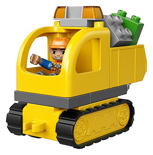 LEGO-DUPLO-Town-Truck-Tracked-Excavator-10812-Best-Gift-for-2-Year-Olds