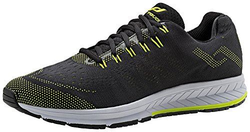 Pro Touch Zapatillas de Run oz 25 m BLACK/ GREEN LIME
