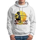 Man Boy Popular Cartoon Warrior Samurai Champloo Hooded Pullover