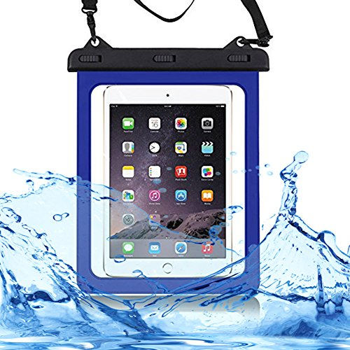 """Universal Waterproof Case Carrying Bag Case Pouch For Tablet Water Proof Dustproof Snowproof Cases For iPad Mini Galaxy Tab Amazon Fire HD 7"""" 8"""" Up To 10.1 Inch Tablet"""