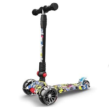 Patinetes de tres ruedas Scooter Plegable para niños ...