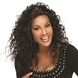 Vivica A. Fox QUEENIE-V Human Hair Wig, Remi Lace Wig in Color P42730