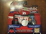 Marvel Minimates Amazing SpiderMan Movie Exclusive Vigilante SpiderMan Capt. Stacy