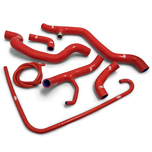 (Samco Radiator Hose Kit Ducati 1098/1198 Thermostat Bypass (Red))