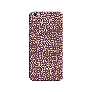 Cover It Up - Brown Purple Pebbles Mosaic V5 Hard Case