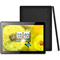 iNOVA MX1086 [10.1 INCH] A7 Quad Core [Android 6.0] HD Tablet PC- 16GB Memory W/Expandable Memory, 1200x800, Dual Camera, Bluetooth 4.0/3G Dongle/WiFi/Micro USB/TF Card Slot/FREE ACCESSORIES- Black