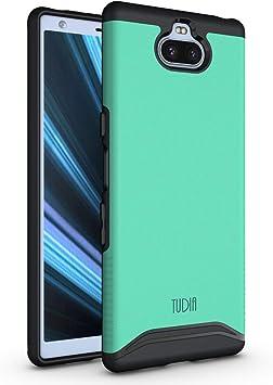 TUDIA Sony Xperia 10 Funda, Slim-Fit [Serie Merge] Funda para Teléfono Extreme Protective Premium de Doble Capa para Sony Xperia 10 [NO Compatible con Xperia 10 Plus] (Menta): Amazon.es: Electrónica